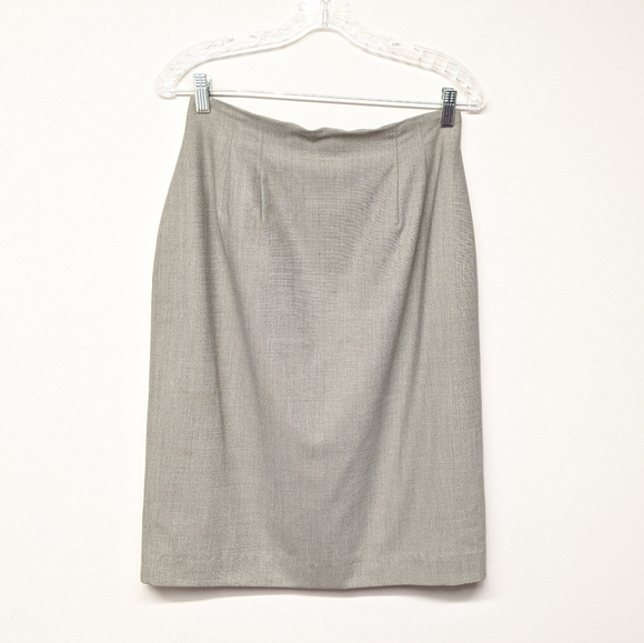 Austin Reed Skirts Gray Wool Skirt Poshmark